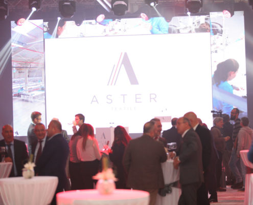 Aster Textile - otvaranje
