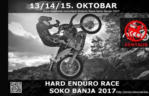 Hard Enduro Race Soko Banja 2017